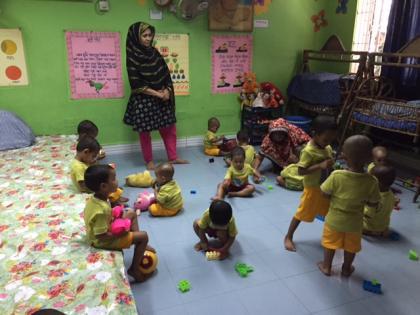 Opvang kledingfabriek Gazipur